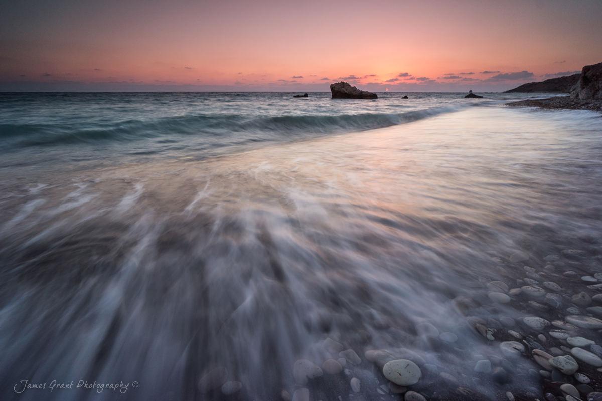 Petra Tou Romiou Sunset - Cyrpus