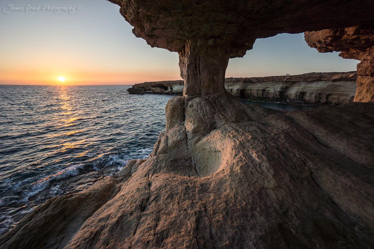 Cape Greco Cave Arch - Cyprus