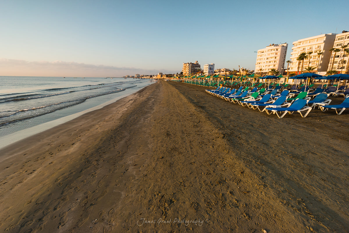 Phinicoudes Beach Sunrise - Cyprus