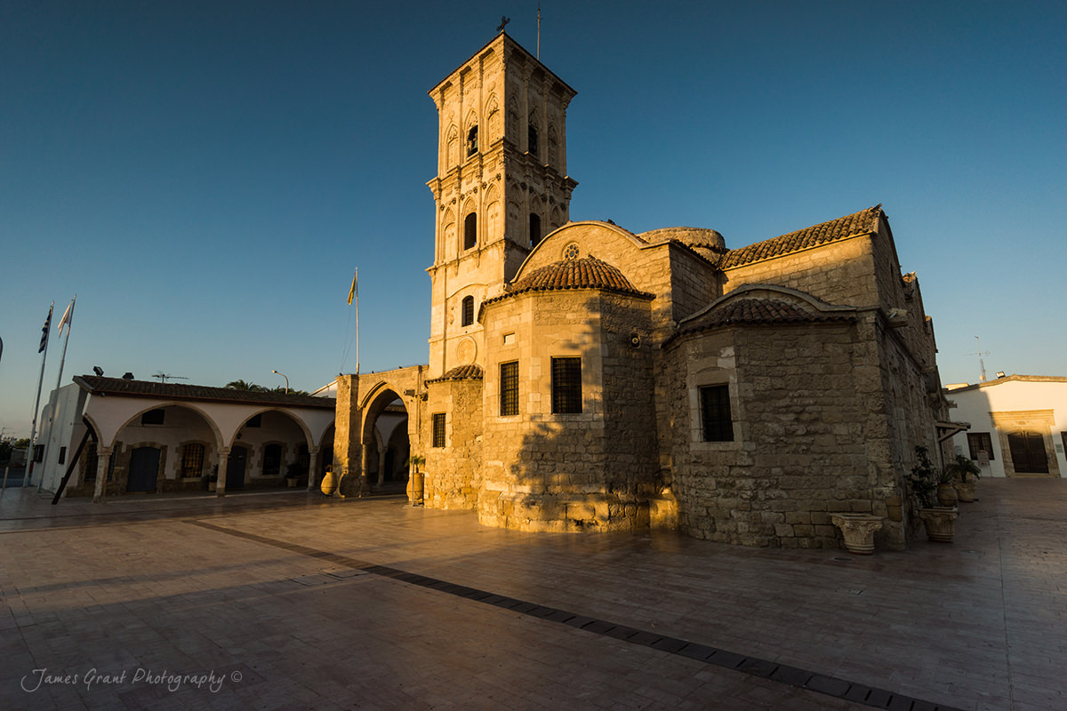 St Lazarus Church Sunrise - Larnaca - Cyprus