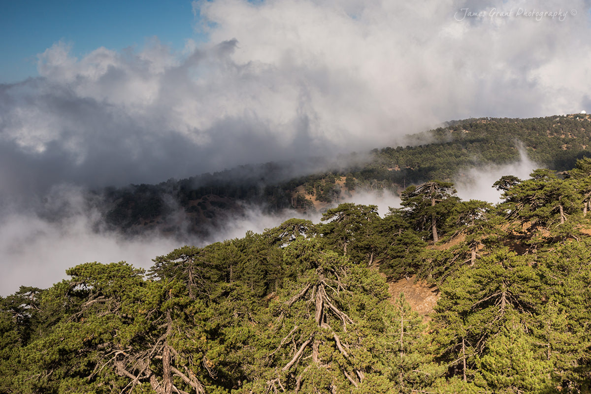 Troodos Clouds - Cyprus