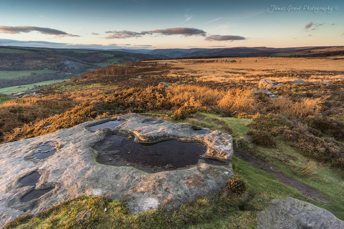 Froggatt Edge Rock Pool - Peak District Photography
