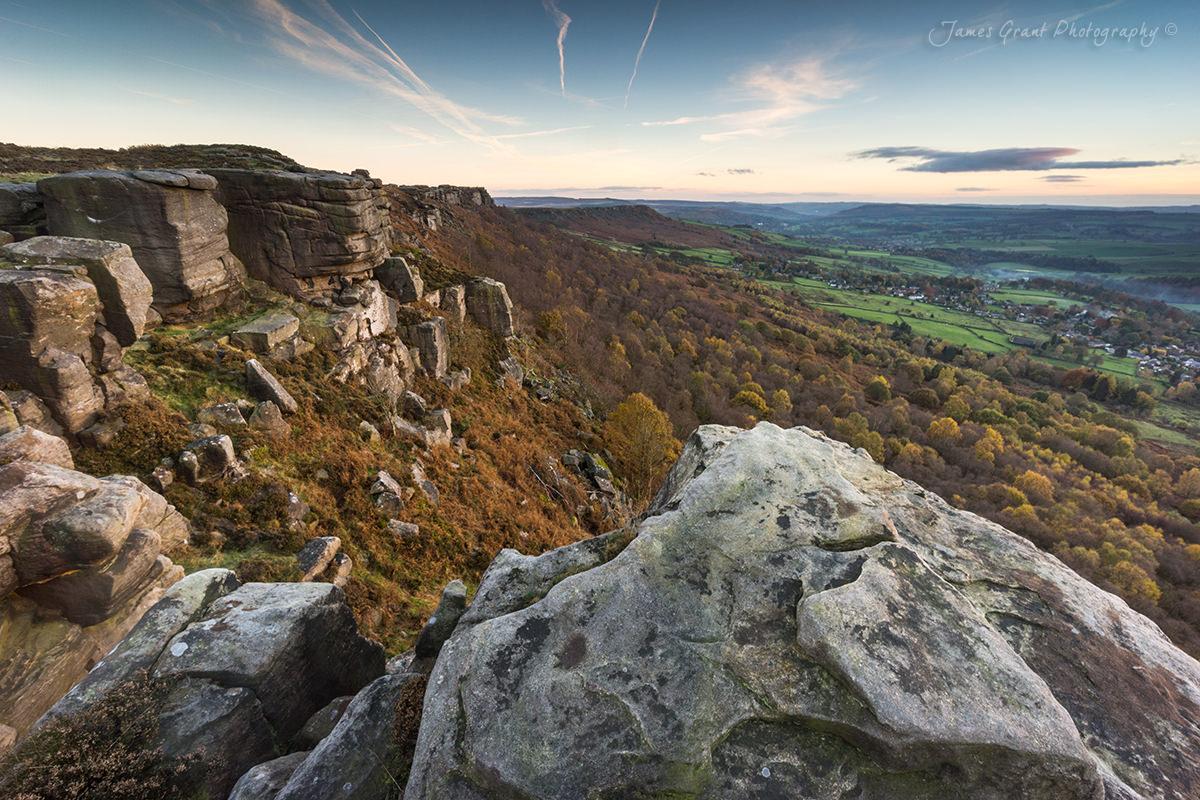 Froggatt Edge Autumn - Peak District Photography