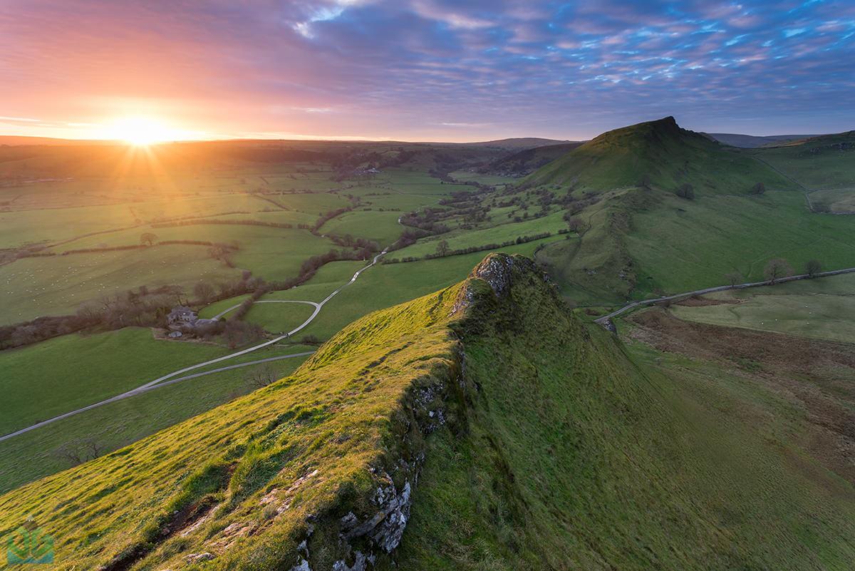 Parkhouse Hill Sunset - Peak District Landscape Photography