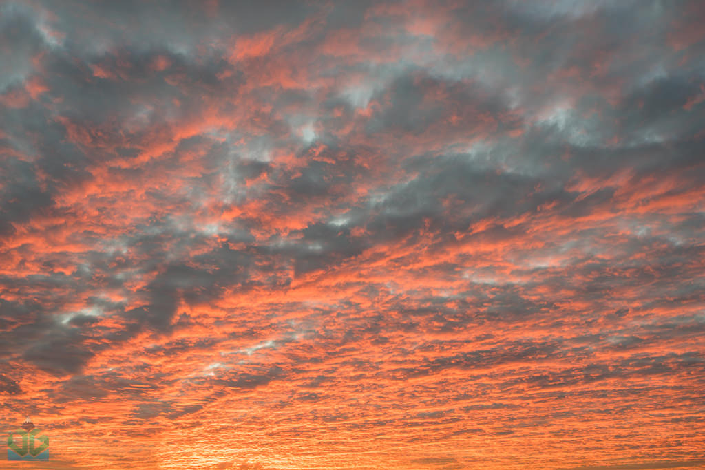 Skies on Fire - Peak District Landscape Photography