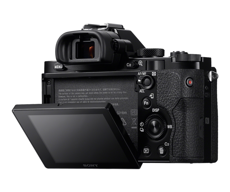 Sony A7R Review - Sony A7R Rear View