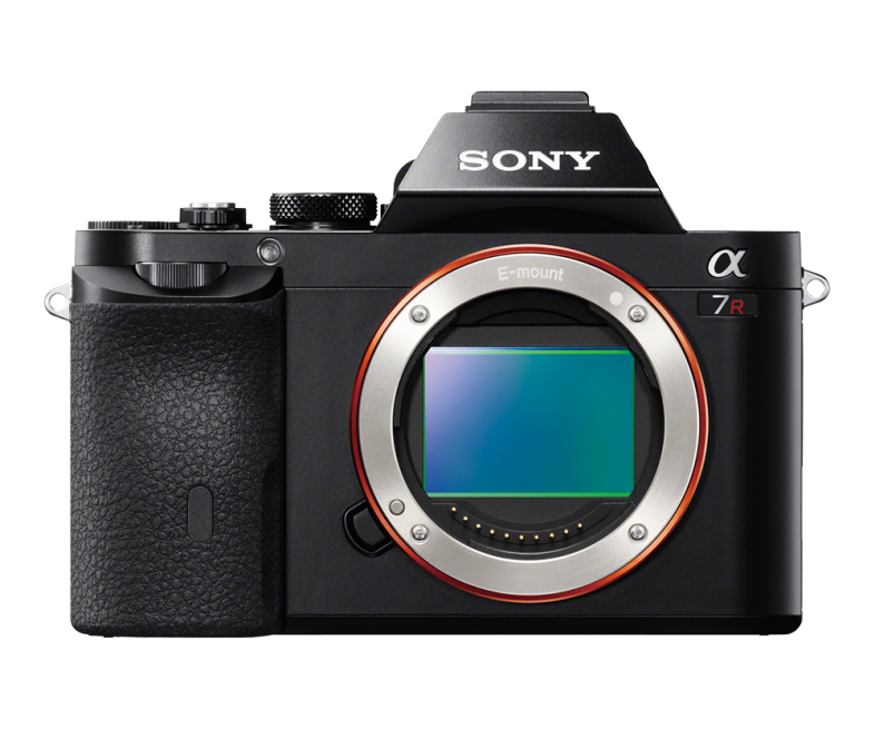 Sony A7R Review - Sony A7R Front View Packing In That Full Frame Sensor (Just)
