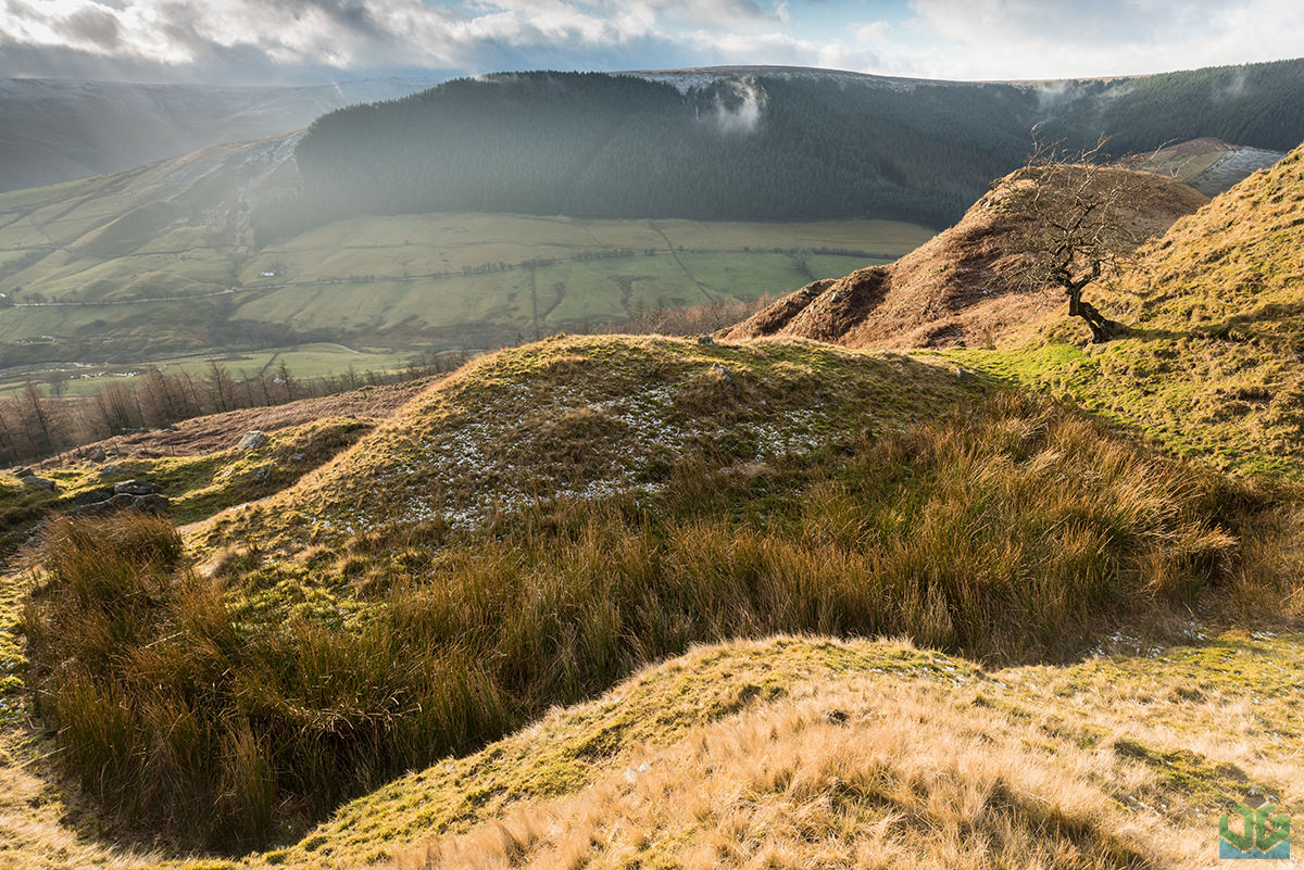 Alport Castles Valley  -  Peak District Landscape Photography