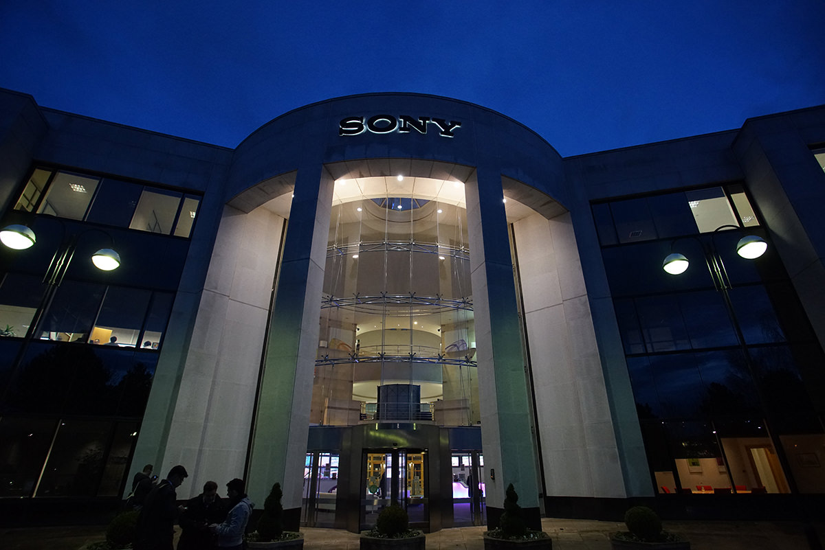 Sony HQ Entrance