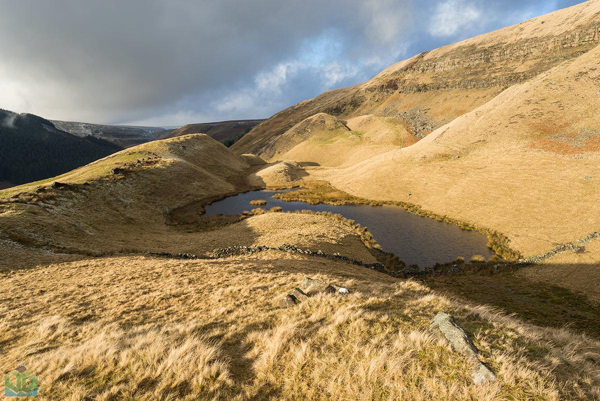 Alport Pool - Peak District Landscape Photography