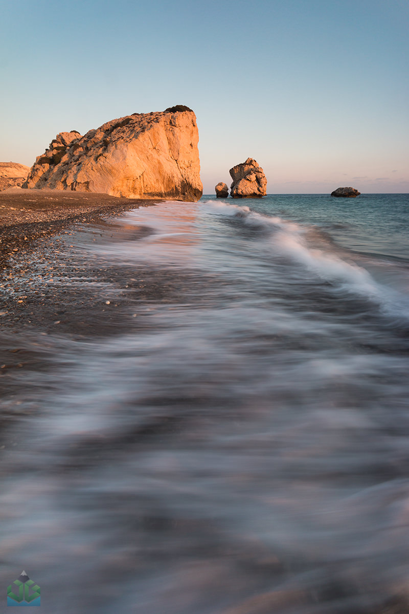 Aphrodites Rock Sunset - Cyprus Landscape Photography