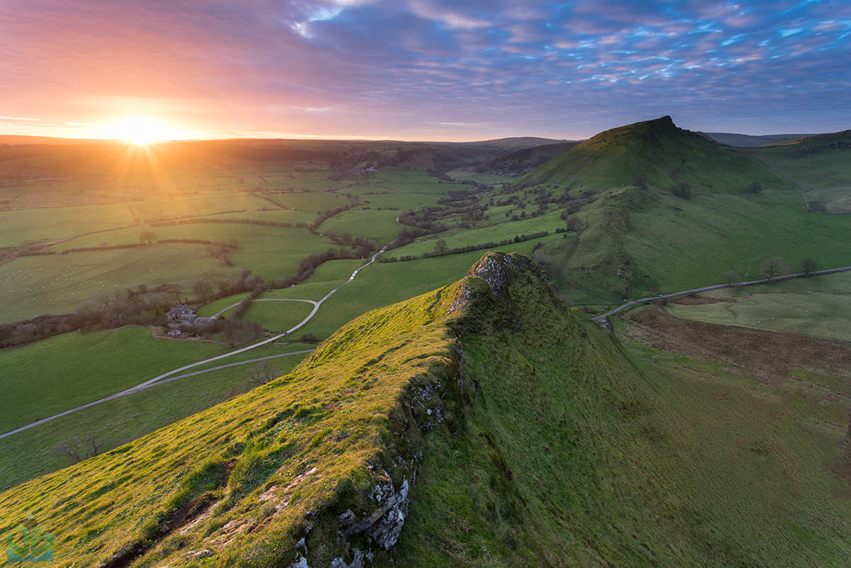 Parkhouse Hill Sunset - Peak District Landscape Photography