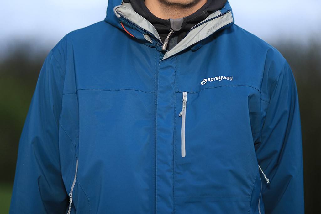 Sprayway Hydrolite II Jacket Close Up