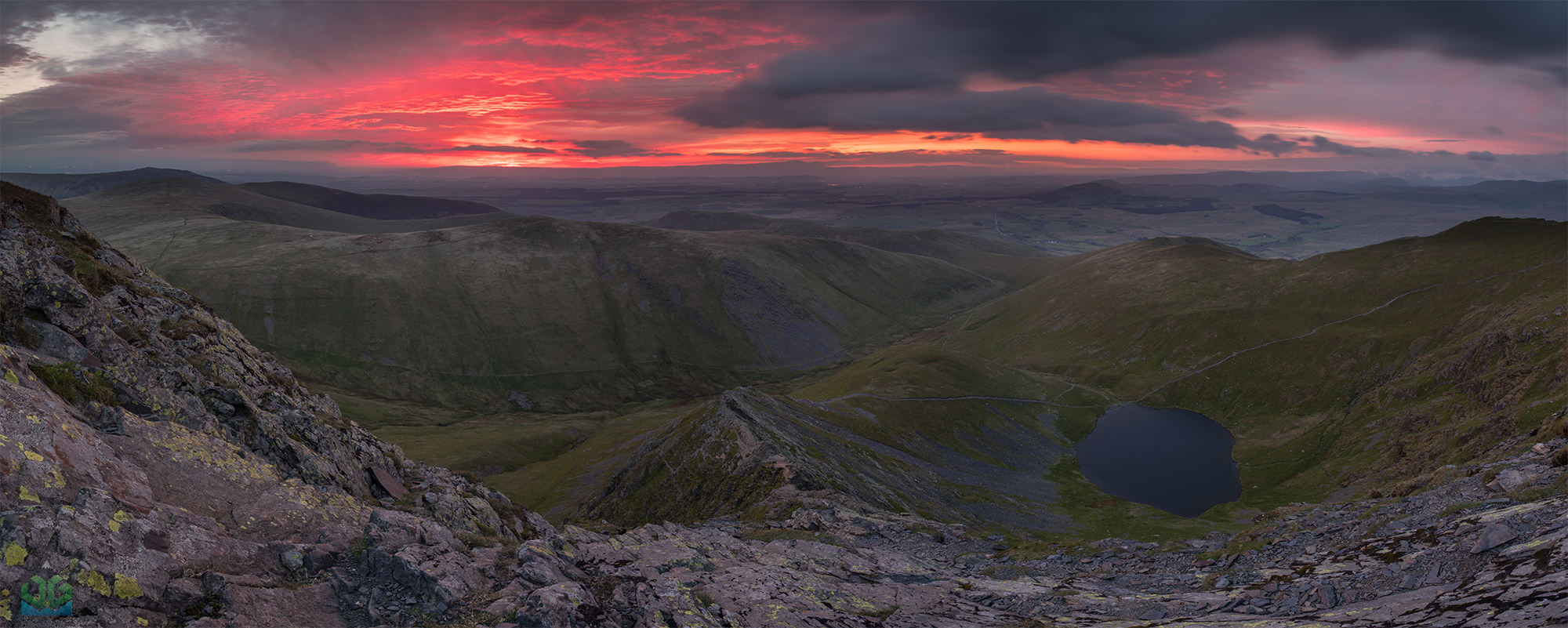 Blencathra Sharp Edge Panoramic - Lake District Landscape Photography