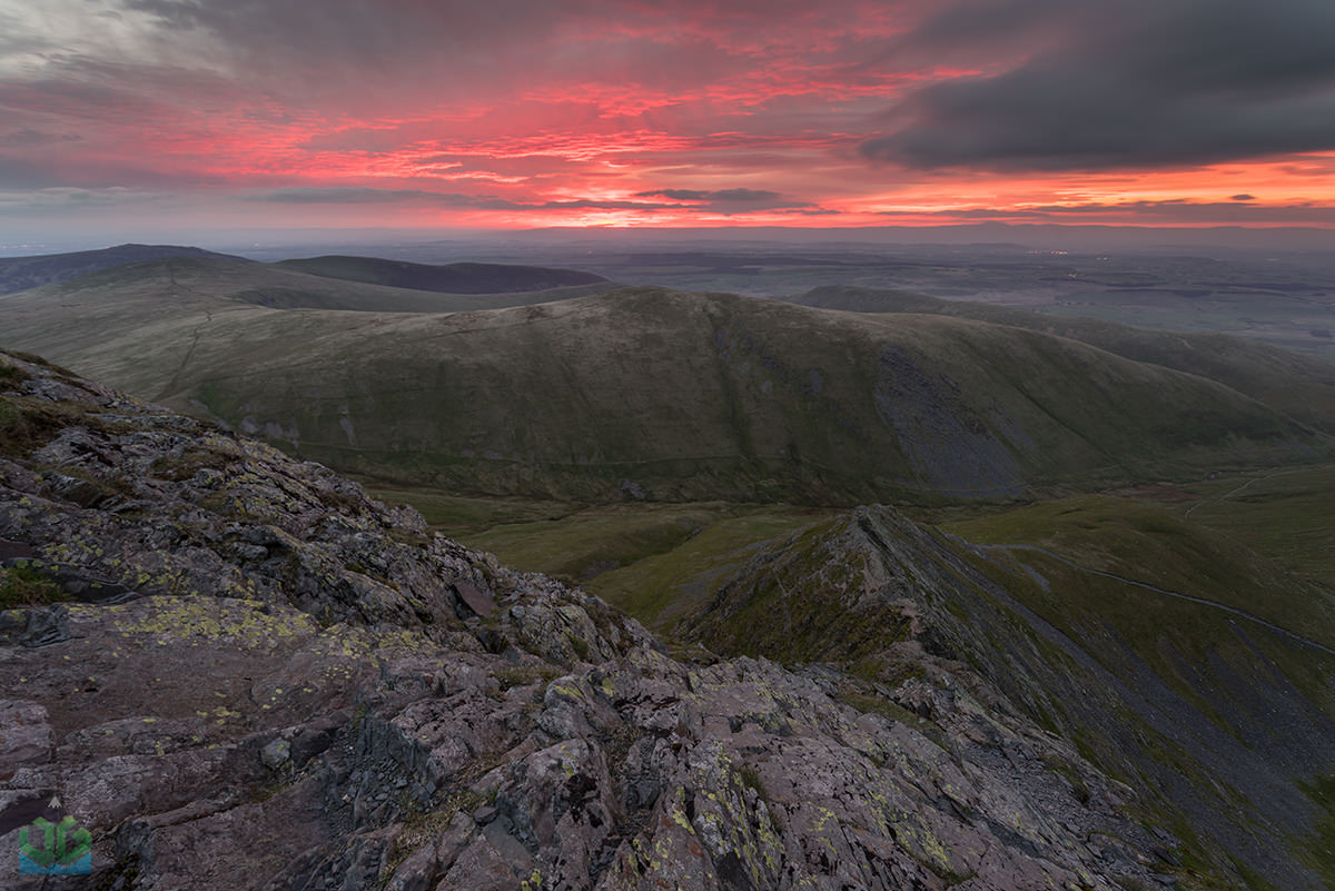 Sharp Edge Sunrise  - Lake District Landscape Photography