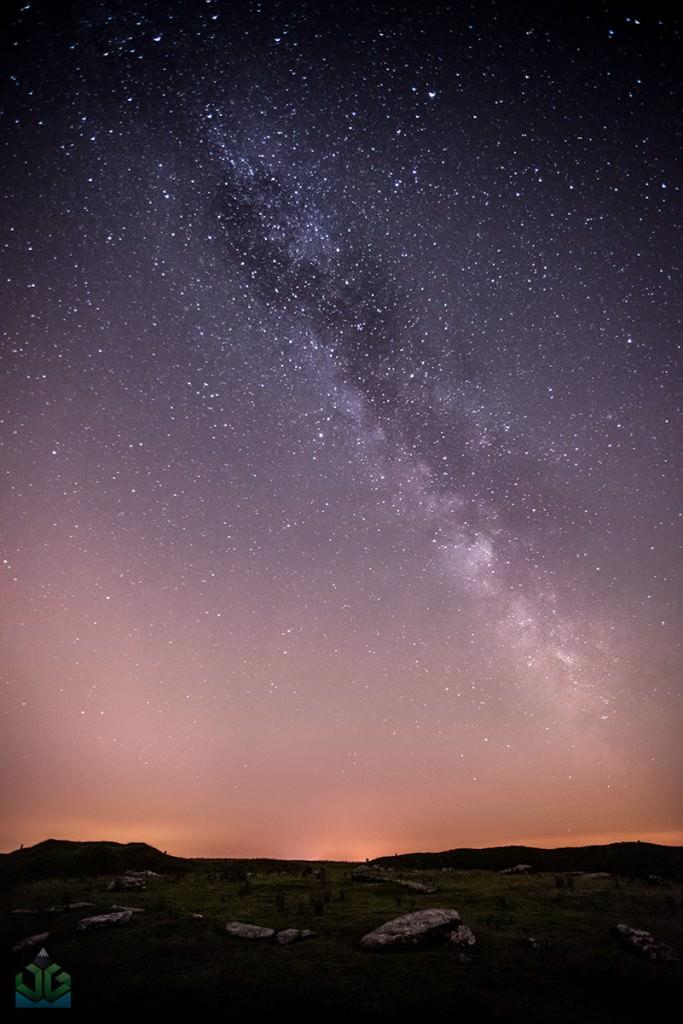 Arbor Low Milky Way - Peak District Milky Way
