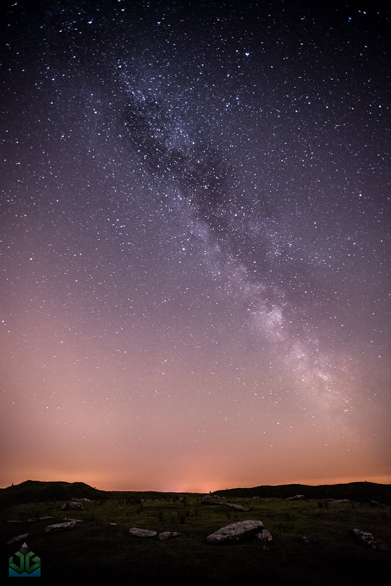 Peak Districy Milky Way - Astrophotography by James Grant