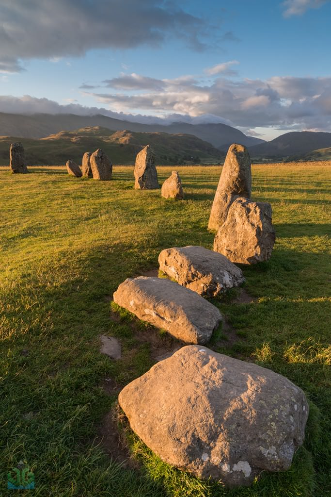 Castlerigg Stone Circle Curve - James Grant Photography