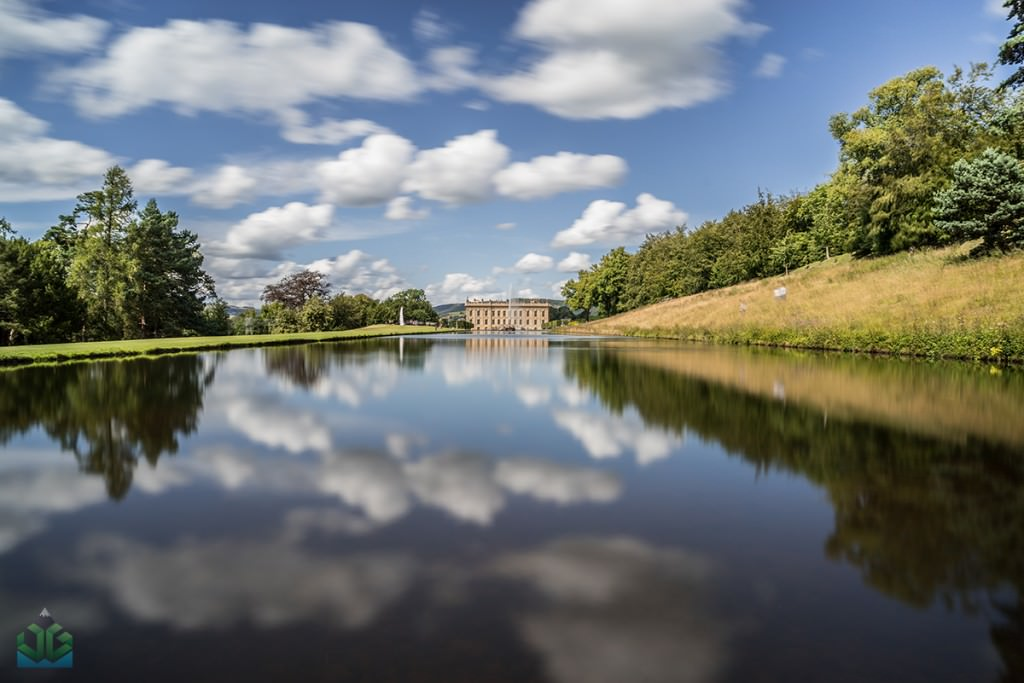 Chatsworth House Emperor Fountain - Peak District Photography