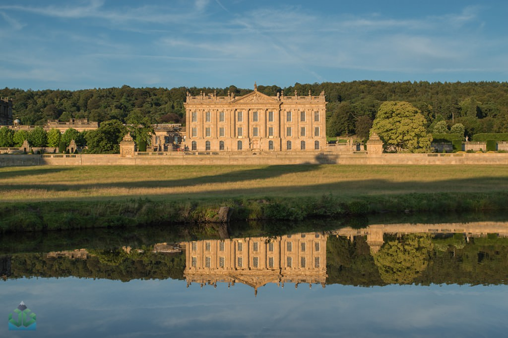 Chatsworth House Reflections - Peak District Photography