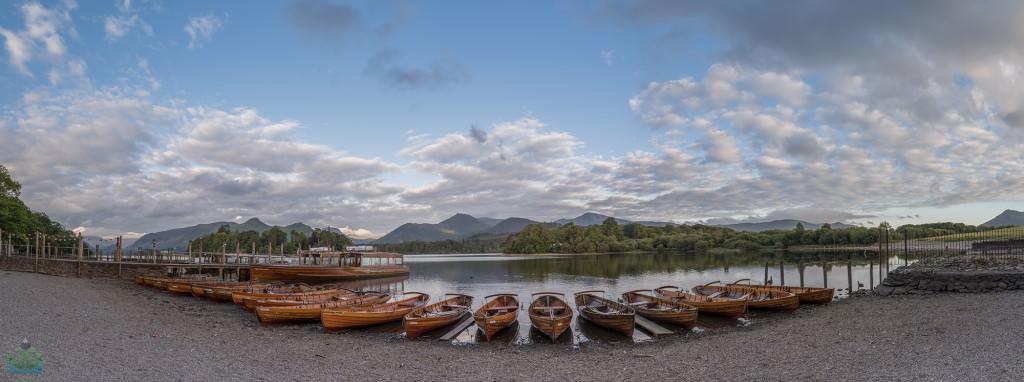 Derwent Water Landing Stage Panoramic - Lake District Photography