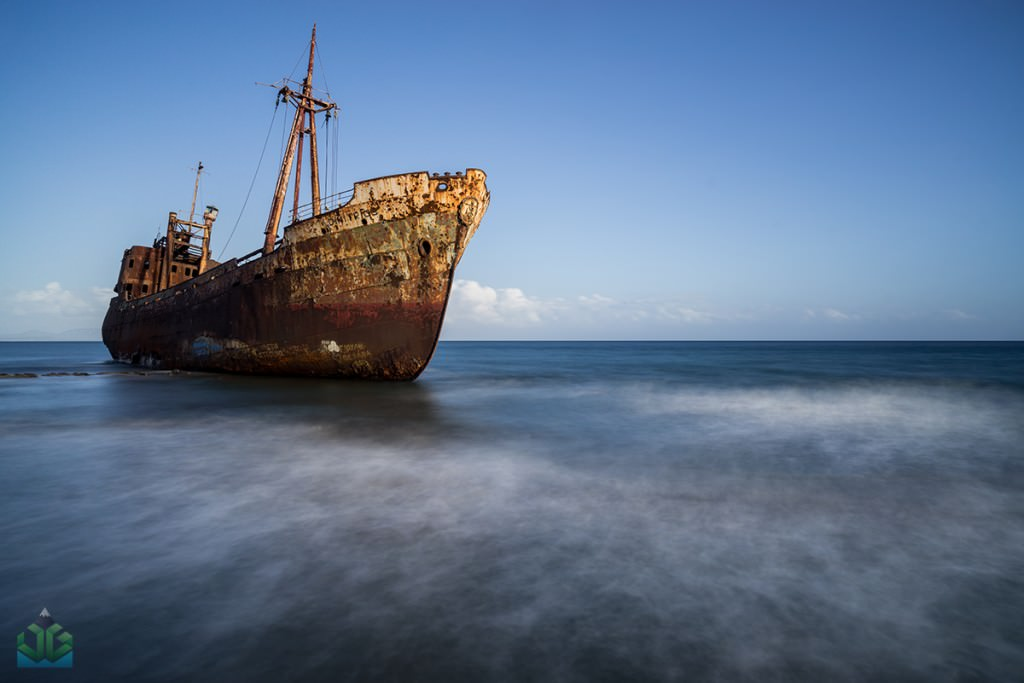 Ghythio Shipwreck - Greece Photography