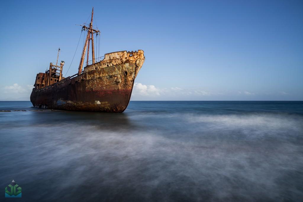 Ghythio Shipwreck - Greece Photography