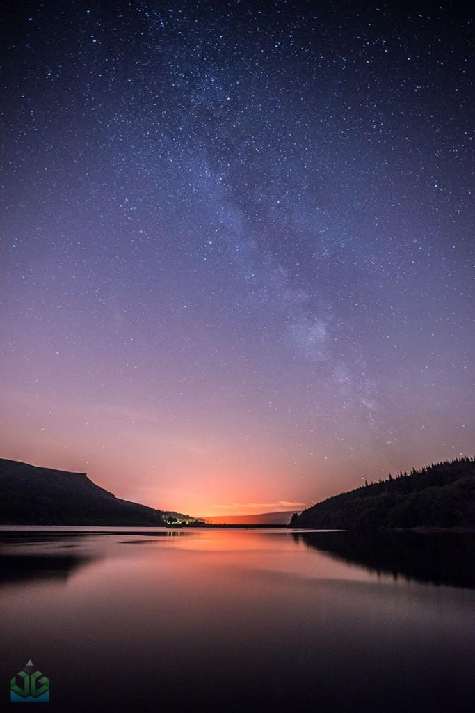 Ladybower Milky Way - Peak District Milky Way