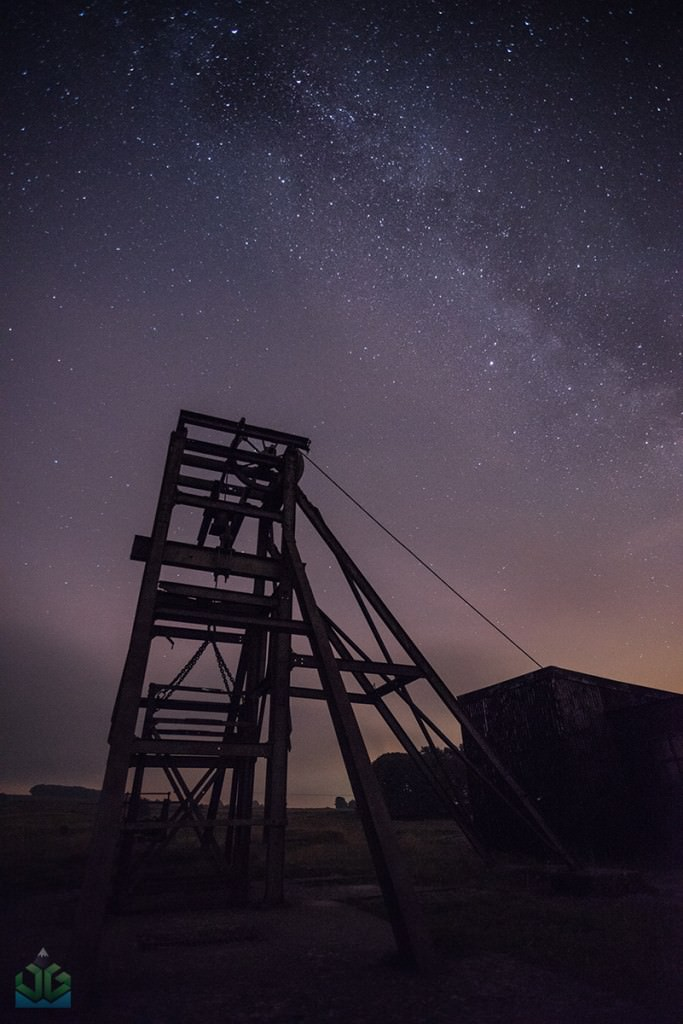 Magpie Mine Workings Milky Way - Peak District Milky Way