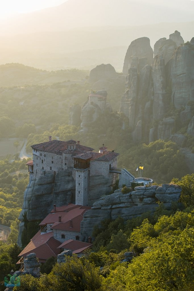 Meteora Rousanou Monastry - Greece Photography
