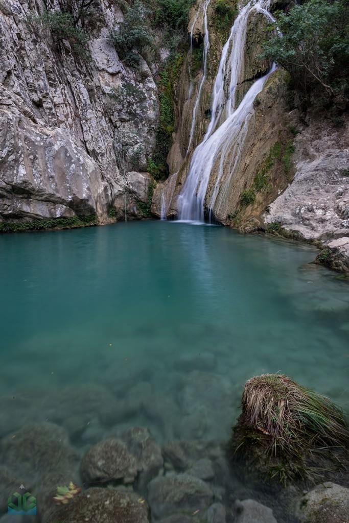 Polilmnio Waterfall - Greece Photographyy