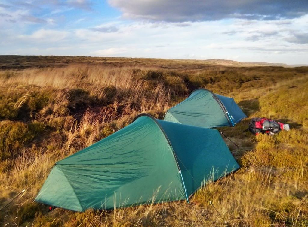 Bleaklow Wild Camp - Wild Camping Photography