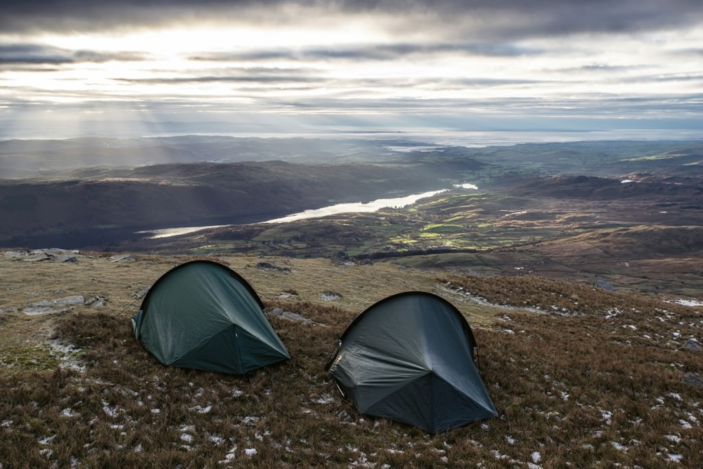 Coniston Tents - Wild Camping Photography