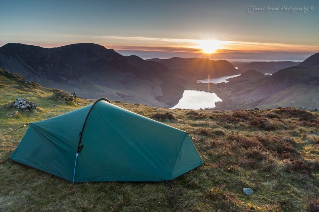 Fleetwith Pike Wild Camp - Wild Camping Photography
