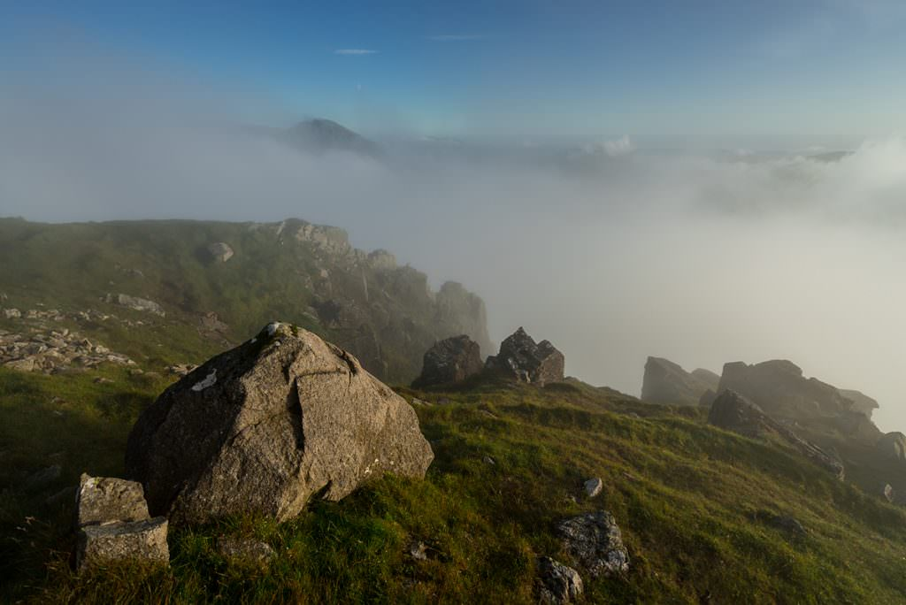 Great Gable Cloud Inversion - Lake District Photography