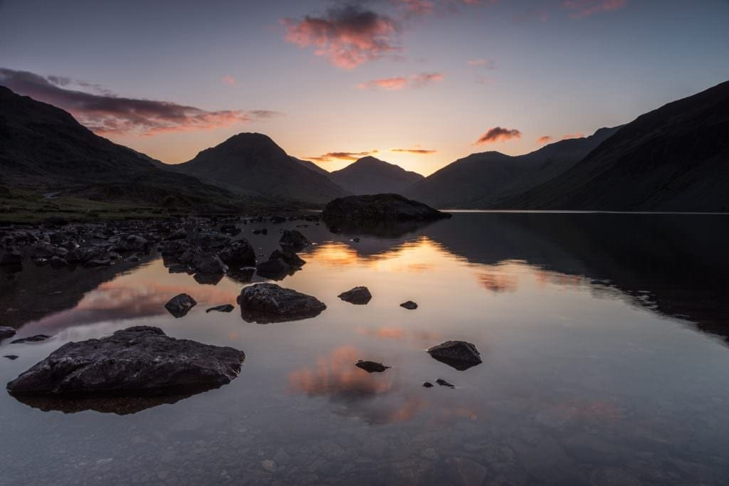 Wast Water Dawn - Lake District Photography Workshops