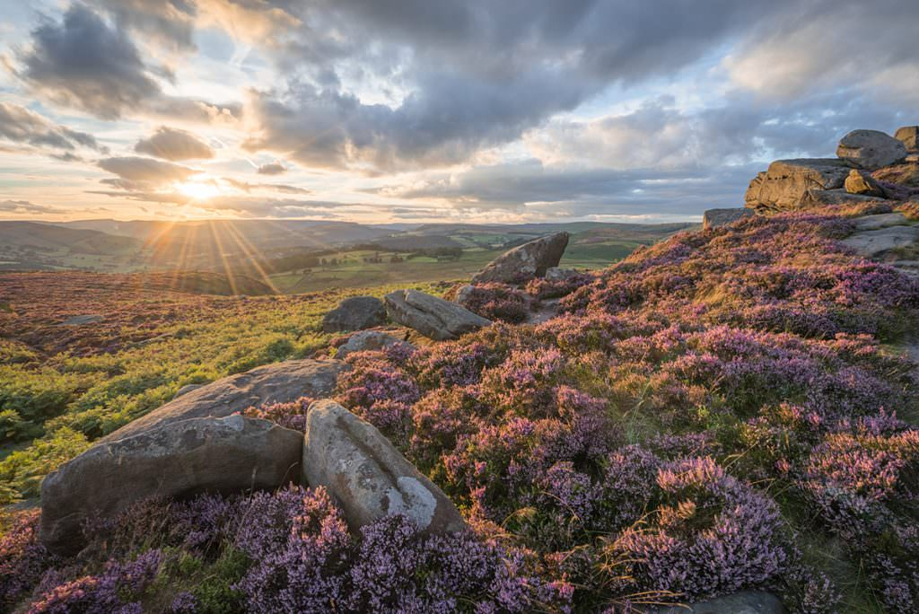 Over Owler Tor - Peak District Photography
