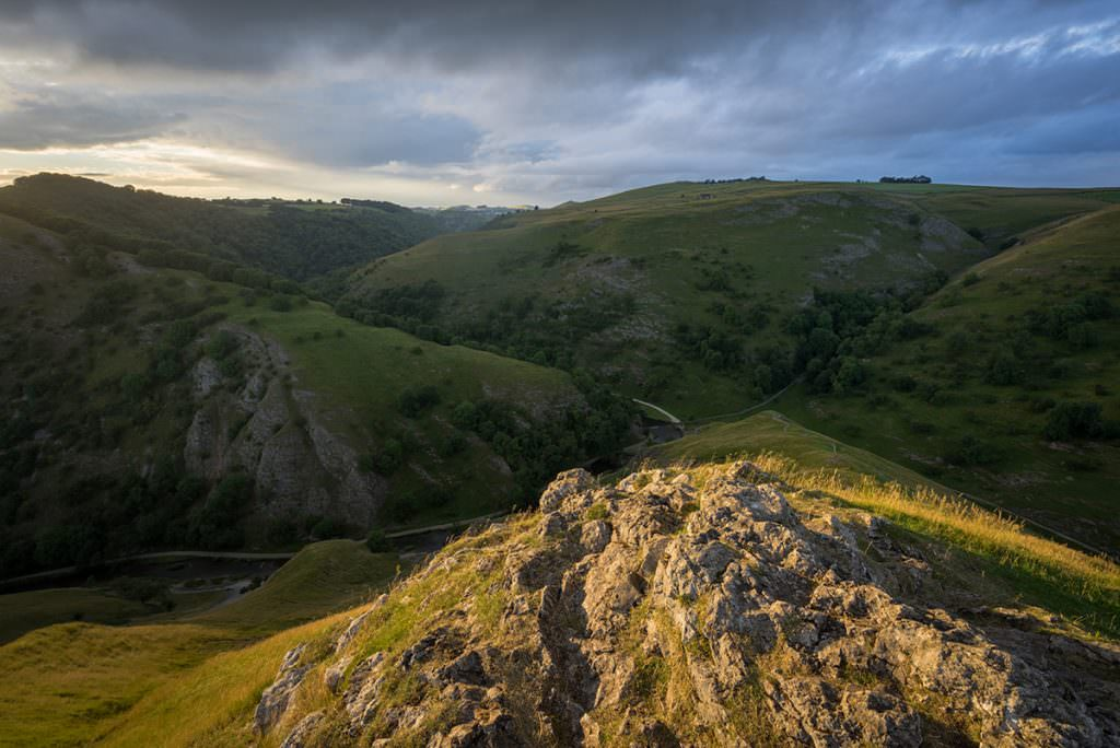 Thorpe Cloud Sunset - Peak District Photography