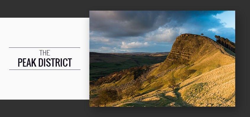 Back Tor Sunset and Padley Gorge Peak District Photography Workshop