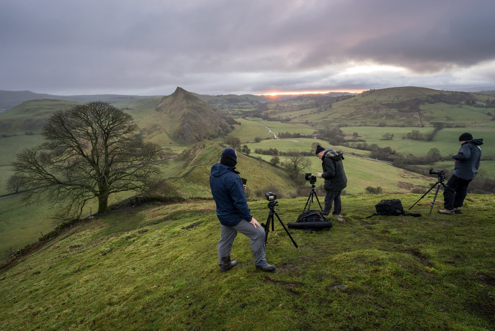 Chrome Hill Workshop  - South Peak District Limestone Photography Workshop