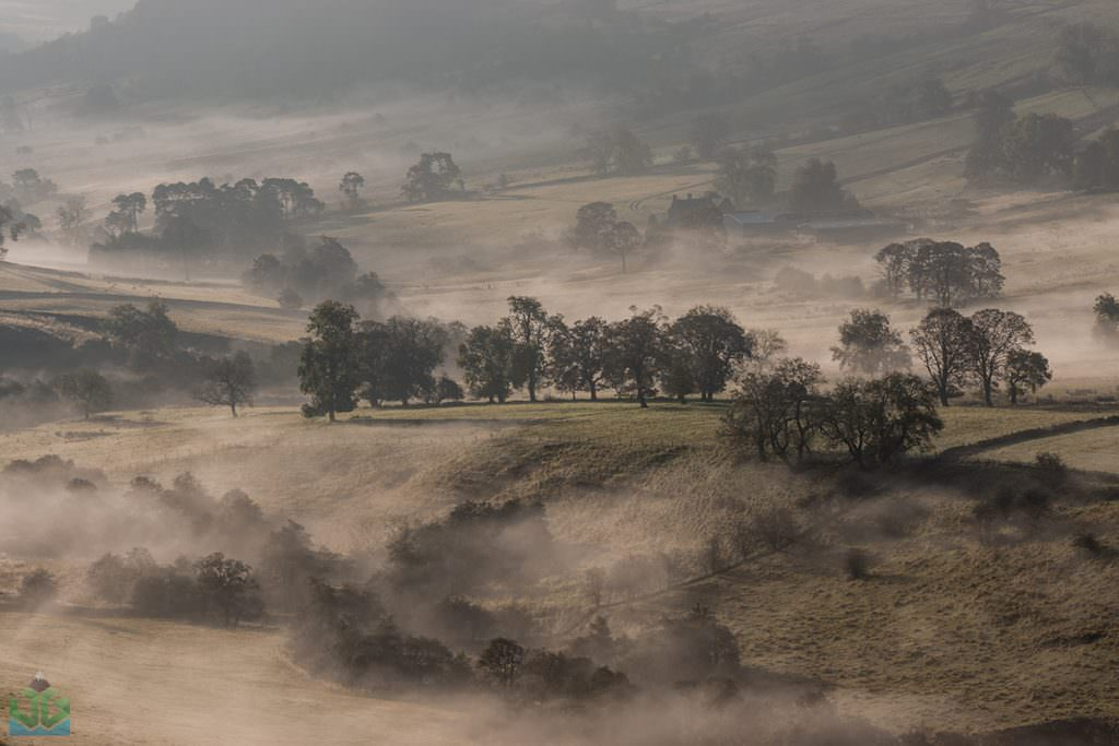 Crowdecote Mist - Autumn In The Peak District