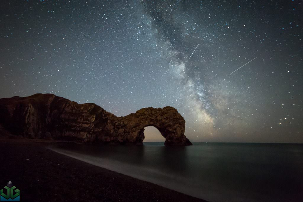 Durdle Door Milky Way - Dorset Photography