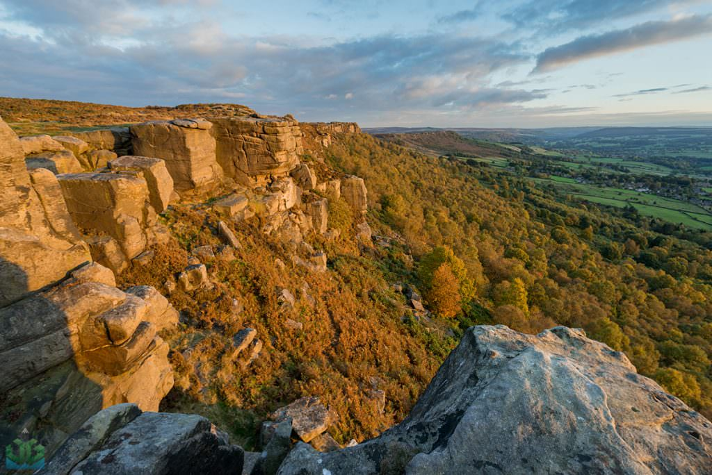 Froggatt Edge Autumn - Autumn in the Peak District