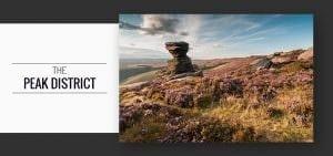 Peak District Heather Photography Workshop Including Salt Cellar and Fair Brook