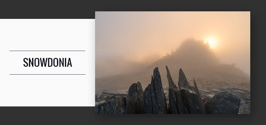 Snowdonia Sunset Mountain Photography Workshop