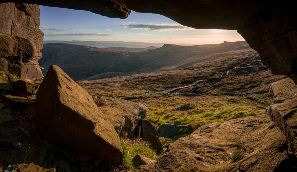 A View to the World - Peak District Photography