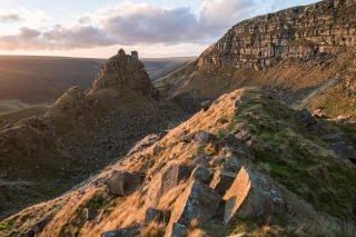 Alport Castles Sunset - Peak District Photography