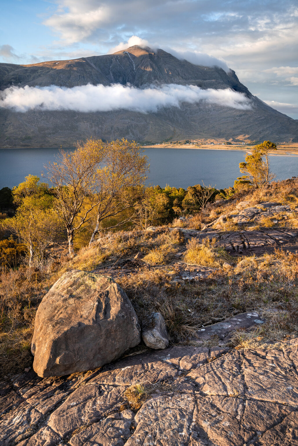 Annat looking towards Liathac at sunset – Scotland Landscape Photography