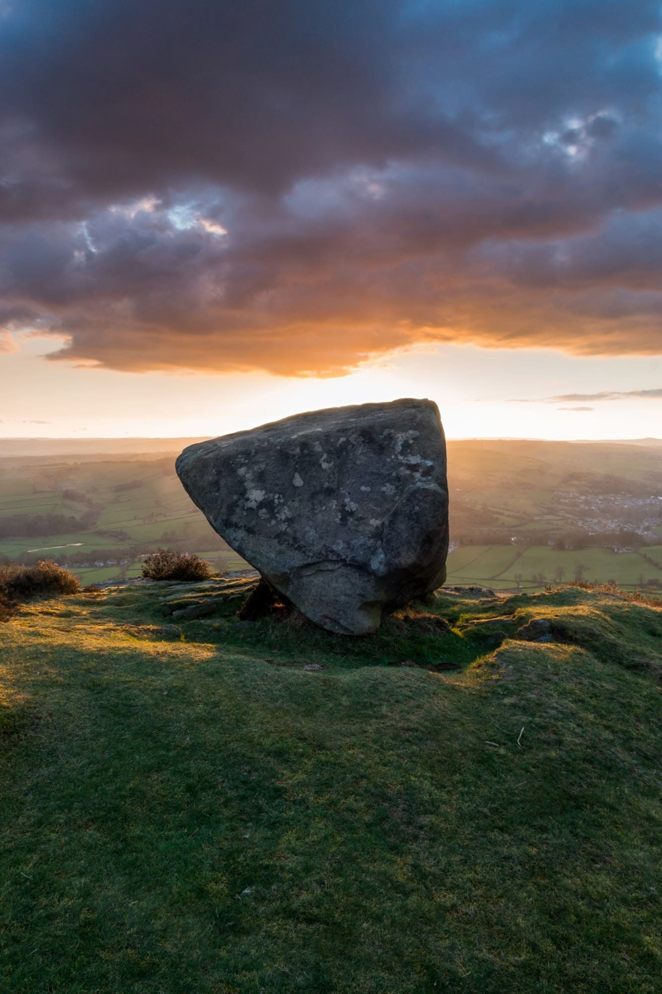 Anvil Stone Sunset - Peak District Through The Lens Photography Workshop
