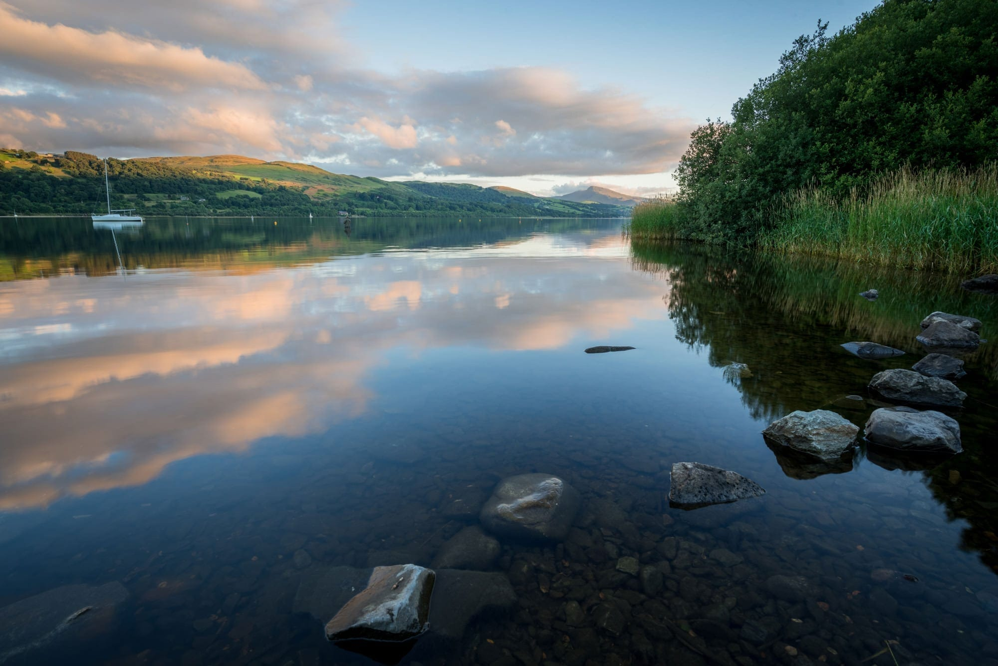 Bala Lake Sunset - Llyn Tegid - Snowdonia Photography